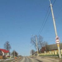 Улица Дзержинского.Выезд на  г. п.  Красносельский.