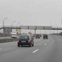 Автоэстакада на М4 в Видном