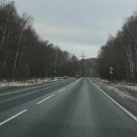 Дорога Малино - Михнево