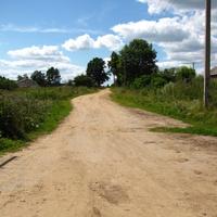 дорога на Оболоновец