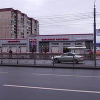 На Гаккелевской улице.