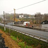 Строительство мостов через р.Фатежик
