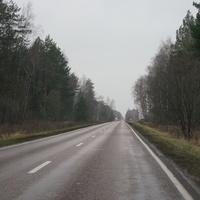 Дорога Большое Алексеевское - Барыбино