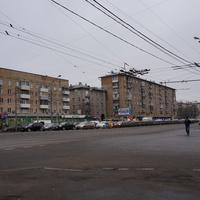 Варшавское шоссе у метро Варшавская
