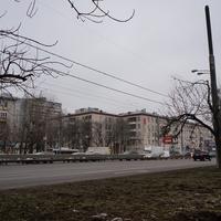 Пересечение Варшавского шоссе и Болотниковской улицы