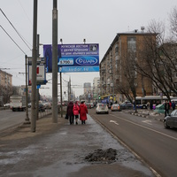 Перекрёсток Варшавское шоссе - Болотниковская улица