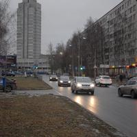Улица Байконуровская.