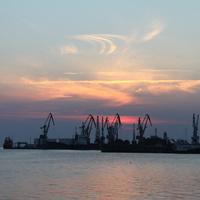 Бердянск. Морской торговый порт.