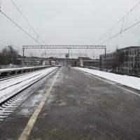 Платформа Зил. В сторону центра.