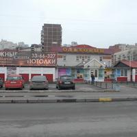"""ТЦ """"Ольховый""""на Ольховой улице."""