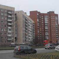 На проспекте Королёва.
