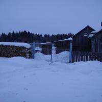 Заблудившийся в Косинке снеговик