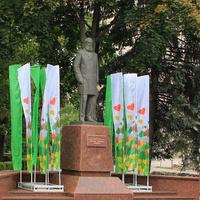 Памятник первому градоначальнику Липецка Митрофану Клюеву
