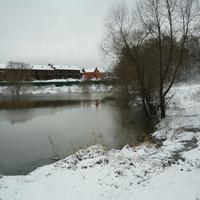 Пруд в Лапшинке.