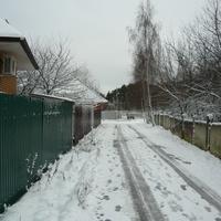 Дорога у Карачаровских дач.