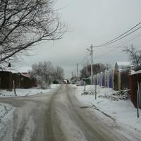 Дорога у Лапшинки.