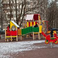 Двор на улице Ушинского