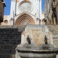 Каменные фонтаны у собора
