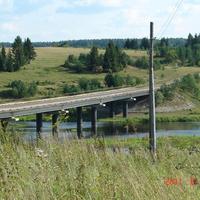 Мост через Реж.