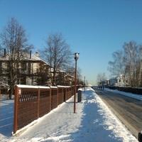 Коттеджный поселок Рассказовка.Зима.