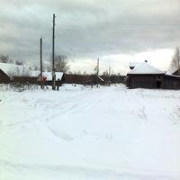 Завод зимой.