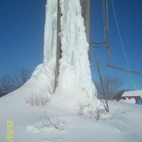 Водонапорная башня - зимой !!!