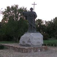 Памятник Андрею Первозванному в Херсонесе