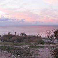 Вид на Базилику и море