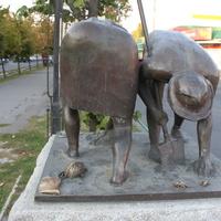 Бердянск. Памятник дачникам.
