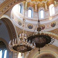 Интерьер верхнего храма Владимирского собора