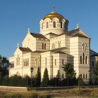Владимирский собор в Херсонесе, вид со стороны моря