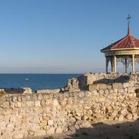 Вид на море из Херсонеса