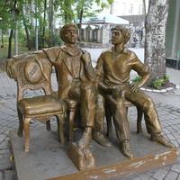 Бердянск. Памятник детям лейтенанта Шмидта.