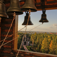 Взгляд на г. Саянск через колокола городского храма