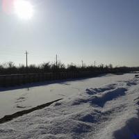 река терек зимой