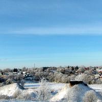 Вид на город с Ворониной горы