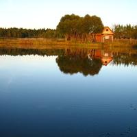 озеро в Сабанино