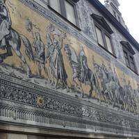 Фреска с изображением саксонских королей