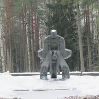 """Памятник на Левашовой Пустоши-""""Молох тоталитаризма"""""""