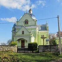 Церковь, вид со стороны замка