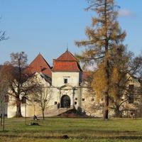 Свиржский замок, центральная часть