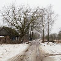 Дома деревни.