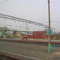 Пути на ЖД станции