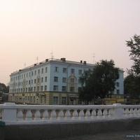 Здание около ЖД вокзала