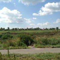 Вид на село с Пушкинской улицы