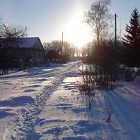 В январе 2014 г. в  поселке Солнцево минус 23.
