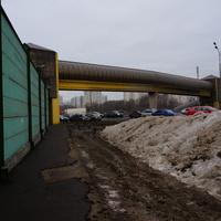 Пешеходный переход через МКАД