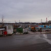 Бывший строительный рынок в Битцах, у Бутово