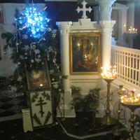 Смольяны,Церковь Преображения Господня.Нижний храм Крестовоздвиженья