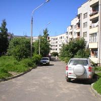 Двор по улице Трудовых Резервов.